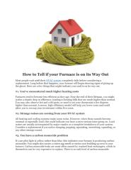 How to Tell if your Furnace is on its Way Out.pdf