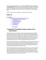 Voice over Internet Protocol.doc