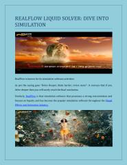 REALFLOW' LIQUID SOLVER DIVE INTO SIMULATION.pdf