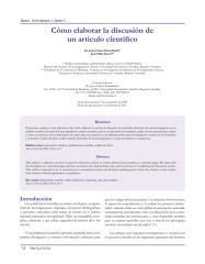 Eslava-Schmalbach J Alzate A 2010 - Como Elaborar la discusion de un articulo cientifico..pdf