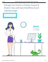 WordPress Event Calendar - Modern Events Calendar - Best event calendar plugin.pdf