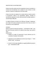 OBJETIVOS DEL PLAN DE MERCADEO loma.doc