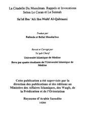 La Citadelle Du Musulman Francias .pdf
